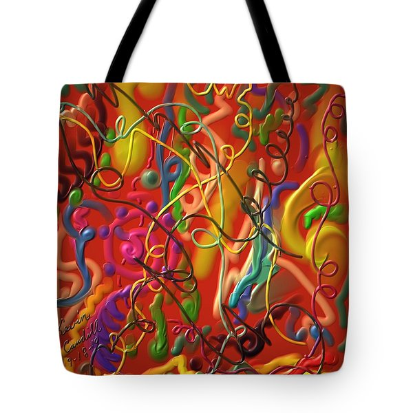 Celebrate The Moment Tote Bag by Kevin Caudill