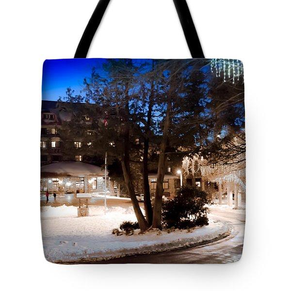 Celebrate The Winter Night Tote Bag