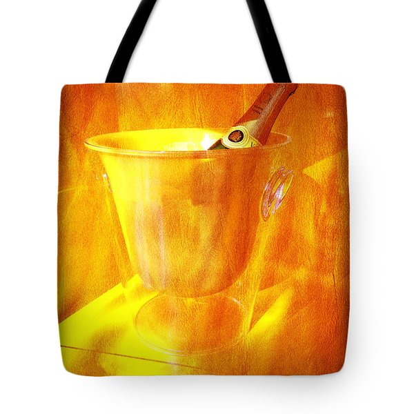 Celebrate With Champagne Tote Bag