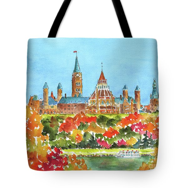 Celebrating Canada 150 Caps 20 Tote Bag
