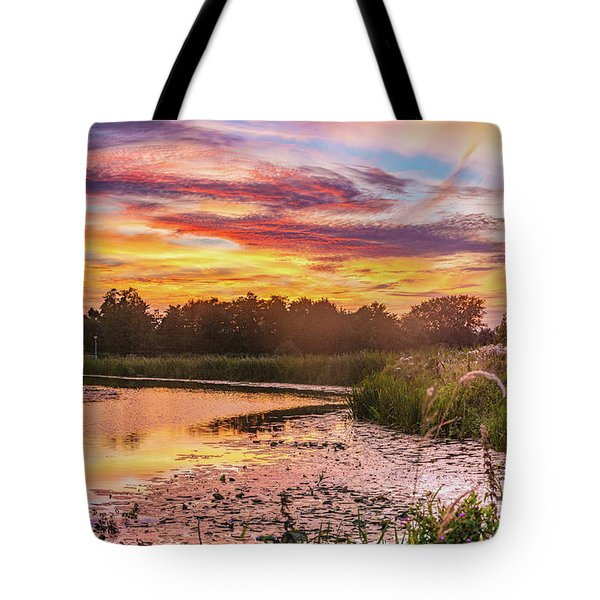 Celebrating Sky Tote Bag