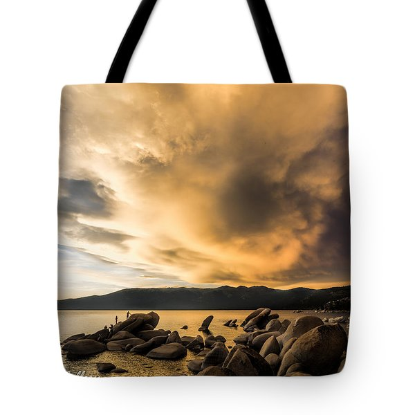 Celebrating Sunset Tote Bag
