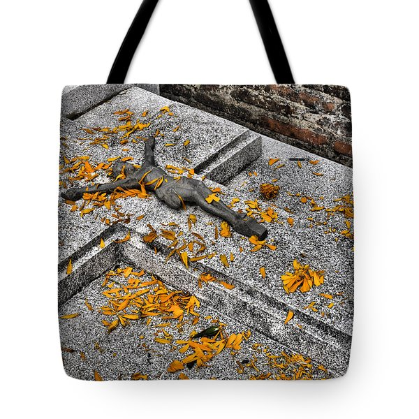 Tote Bag featuring the photograph Celebrating The Day Of The Dead by Jim Walls PhotoArtist