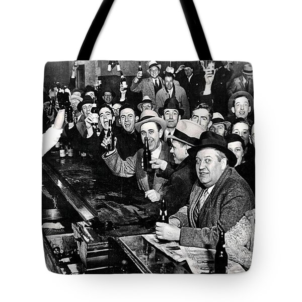Celebrating The End Of Prohibition Tote Bag