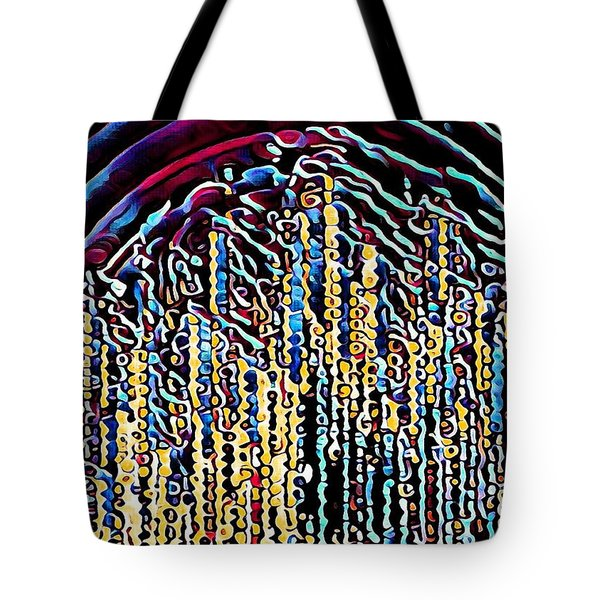 Tote Bag featuring the digital art Celebration by David Manlove
