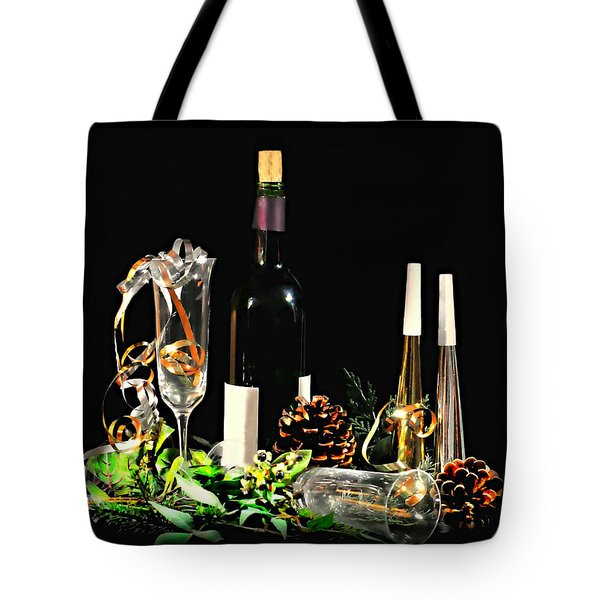 Tote Bag featuring the photograph Celebration by Diana Angstadt