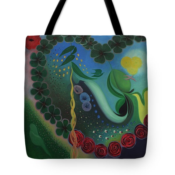 Celebration Of Love  Tote Bag by Tone Aanderaa