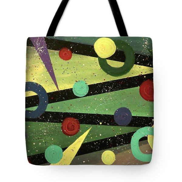 Celebration Tote Bag by Teresa Wing