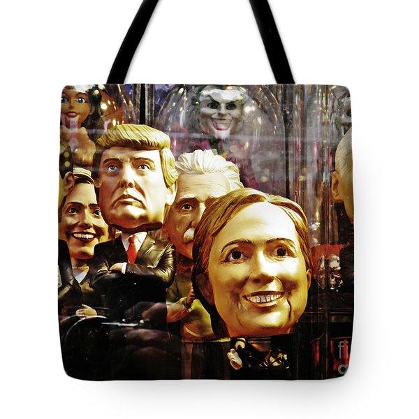 Celebrity Bobbleheads 1 Tote Bag