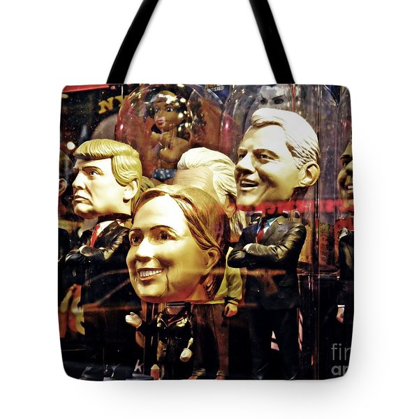 Celebrity Bobbleheads 2 Tote Bag