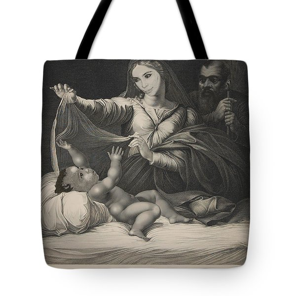 Celebrity Etchings - North Kim And Kanye Tote Bag