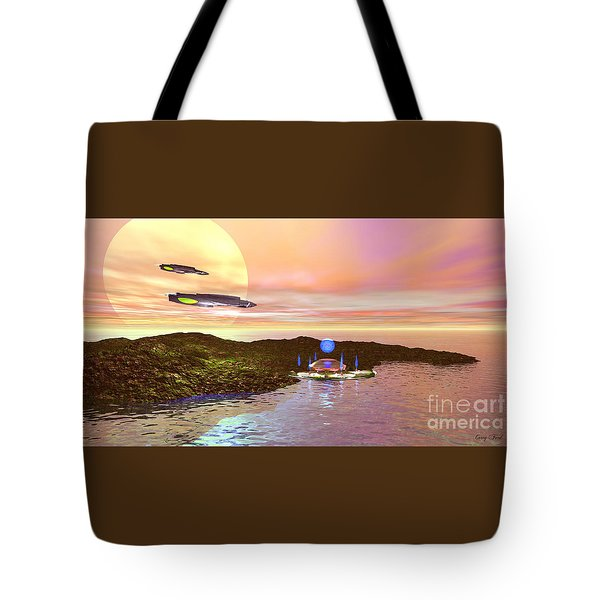 Celeron 3 Tote Bag by Corey Ford