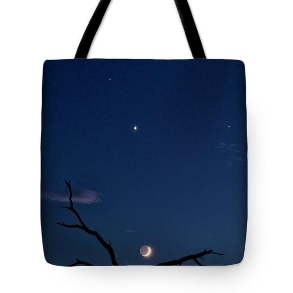 Celestial Alignment Tote Bag
