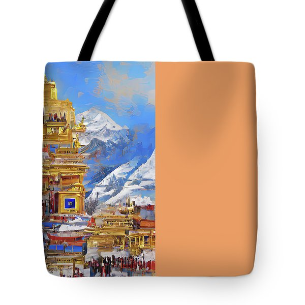 Celestial Tote Bag by Andreas Thust
