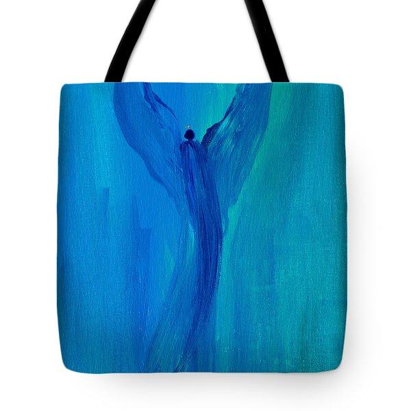 Celestial Angel Tote Bag