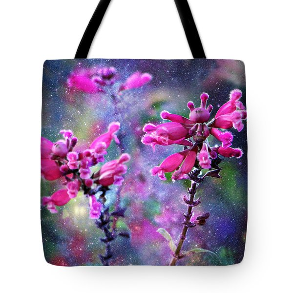 Celestial Blooms-2 Tote Bag by Kathy M Krause