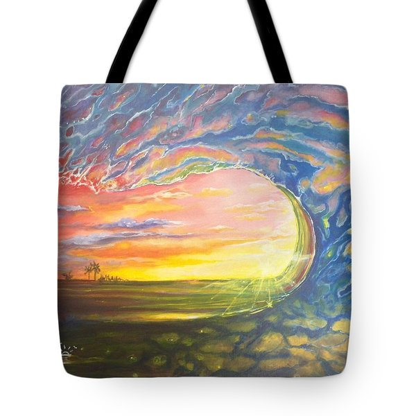 Celestial Break Tote Bag