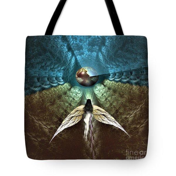 Celestial Cavern Tote Bag