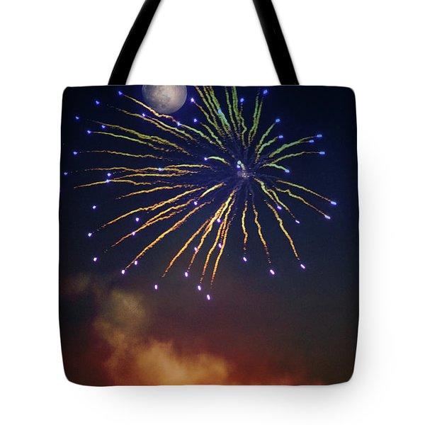 Celestial Celebration  Tote Bag