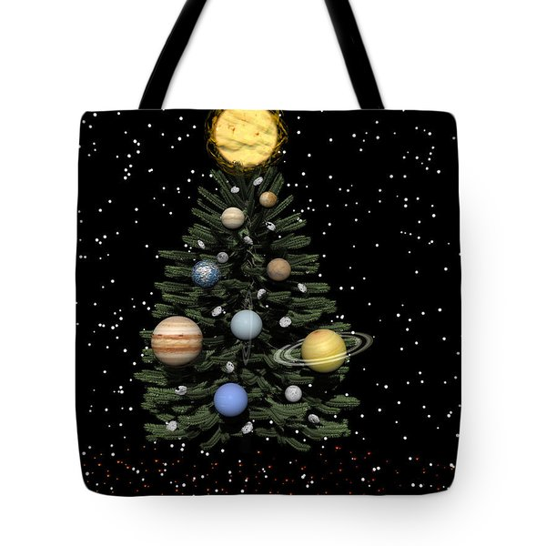 Celestial Christmas Tote Bag by Michele Wilson