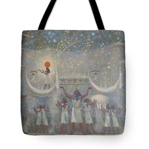 Celestial Cow Tote Bag