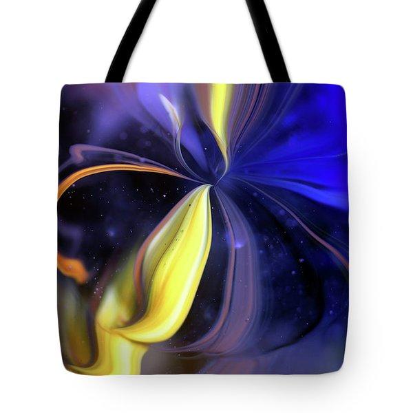 Celestial Flower Tote Bag