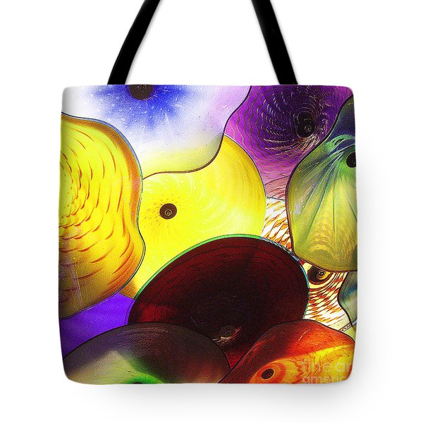 Celestial Glass 1 Tote Bag by Xueling Zou