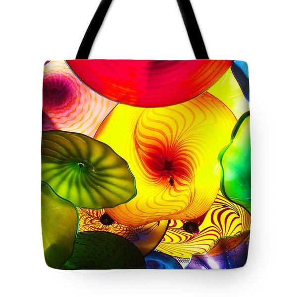 Celestial Glass 2 Tote Bag by Xueling Zou