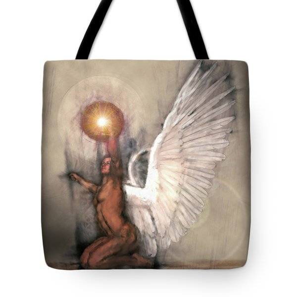 Celestial Glory Tote Bag by Michael Durst