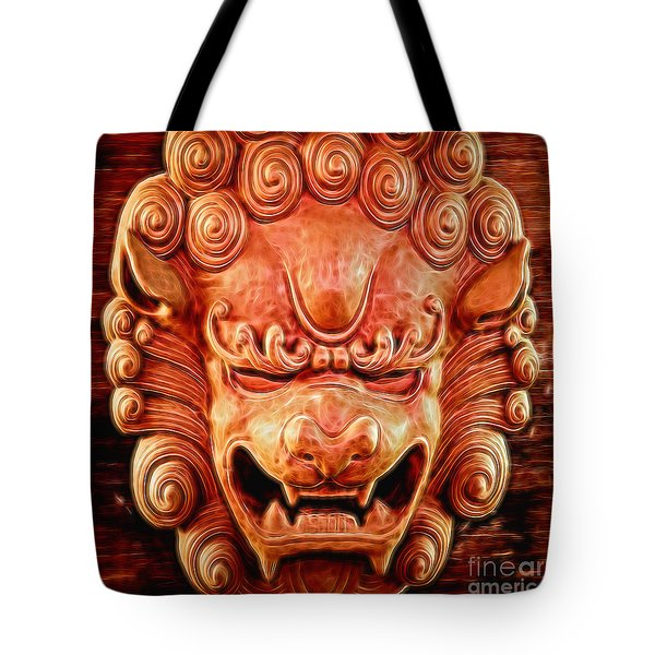 Celestial Guardian Tote Bag