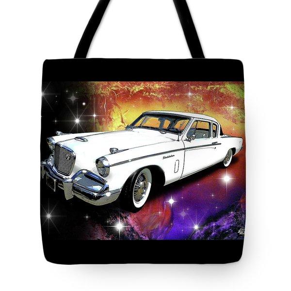 Celestial Hawk Tote Bag