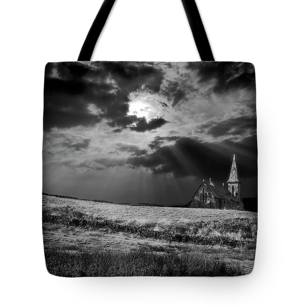 Celestial Lighting Tote Bag by Meirion Matthias