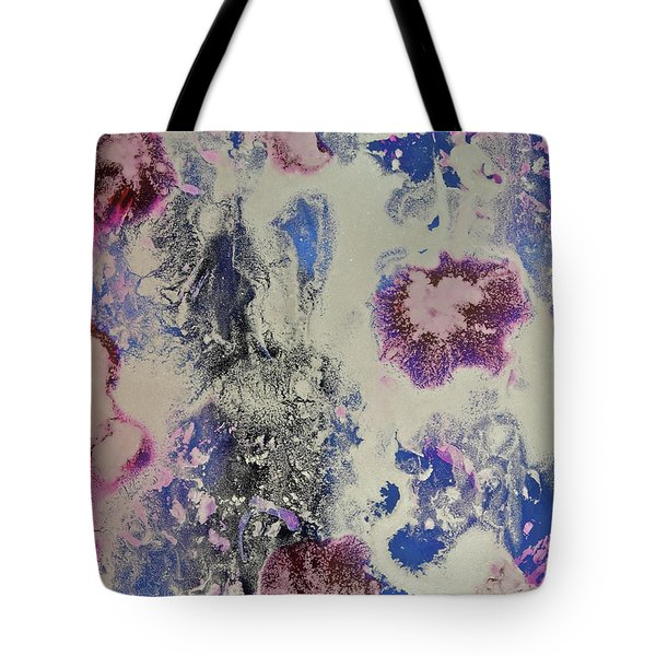 Tote Bag featuring the painting Celestial by Michele Myers