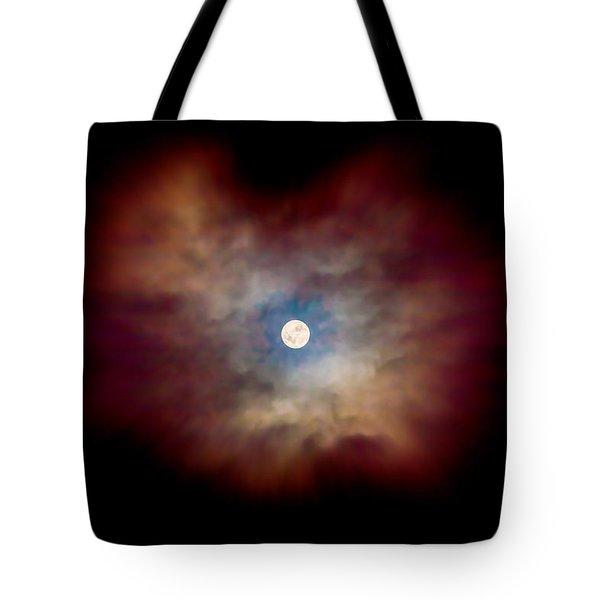 Celestial Moon Tote Bag
