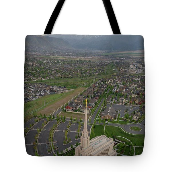 Tote Bag featuring the photograph Celestial Perspective by Dustin LeFevre