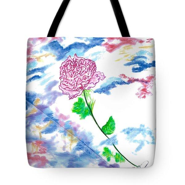 Celestial Rose Tote Bag