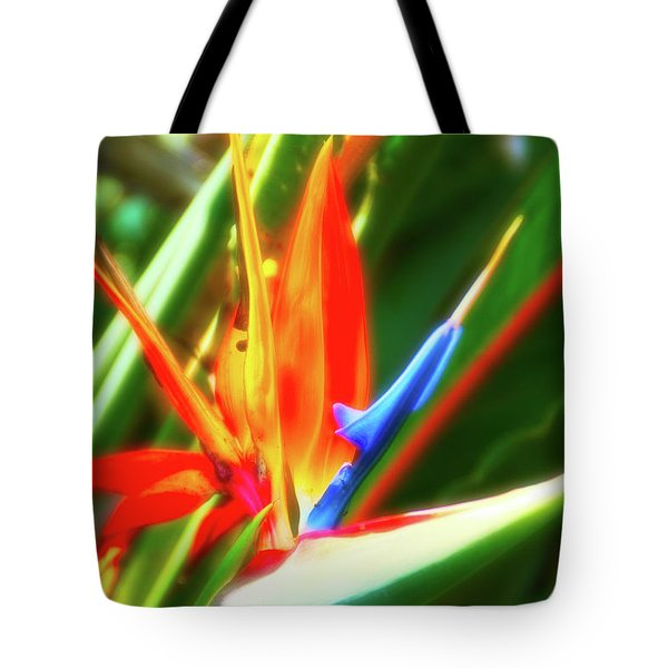 Tote Bag featuring the photograph Celestial Skies Bird Of Paradise by Aimee L Maher Photography and Art Visit ALMGallerydotcom