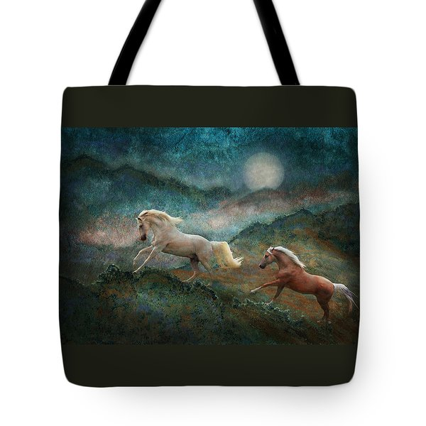 Celestial Stallions Tote Bag