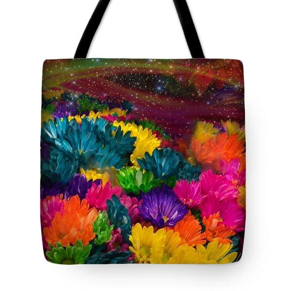 Celestial  Summer  Tote Bag