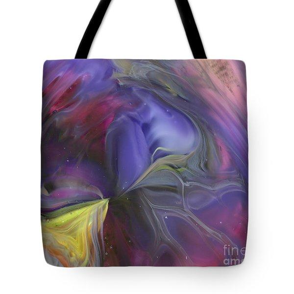 Celestial Vortex Tote Bag