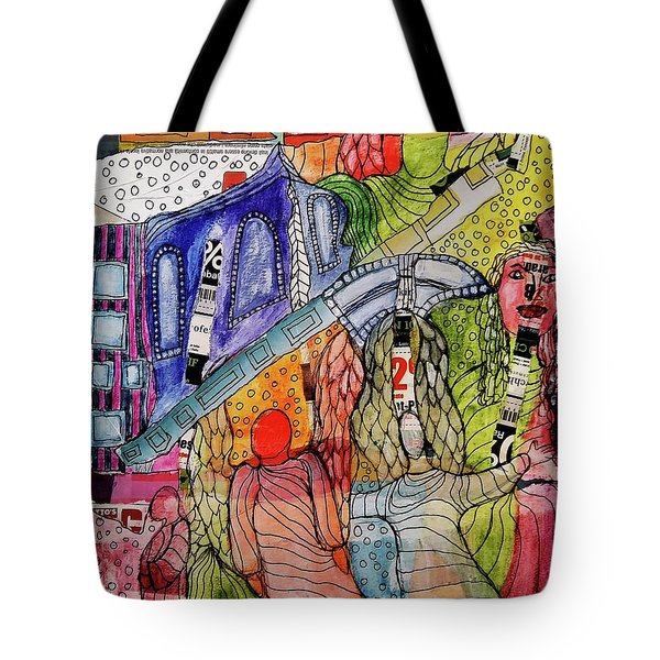 Celestial Windows Tote Bag