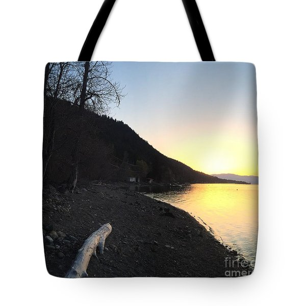 Celista Sunrise 1 Tote Bag by Victor K