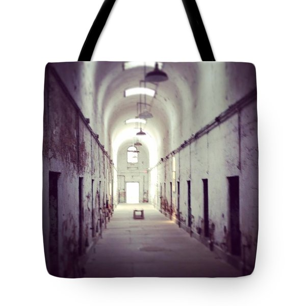 Cell Block Eastern State Penitentiary Tote Bag