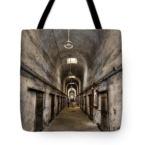 Cell Block  Tote Bag by Evelina Kremsdorf