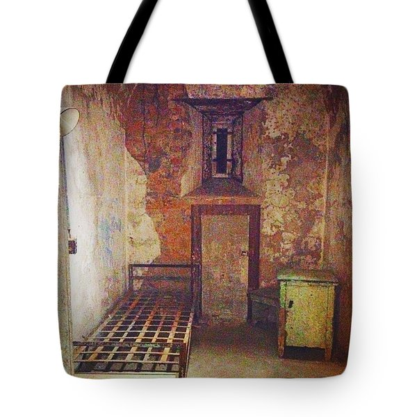 Cell At Eastern State Penitentiary Tote Bag
