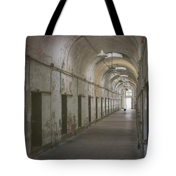 Cellblock Hallway Tote Bag