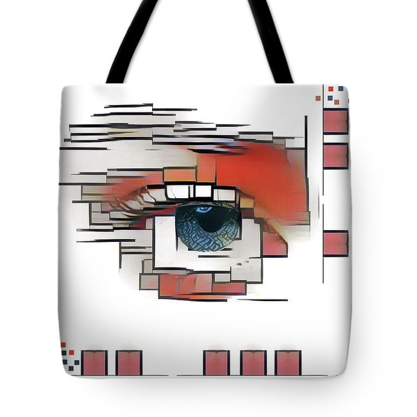 Tote Bag featuring the photograph Cellmate 0601 by Carol Leigh