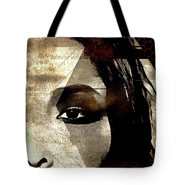 Tote Bag featuring the photograph Cellmate 0753 by Carol Leigh