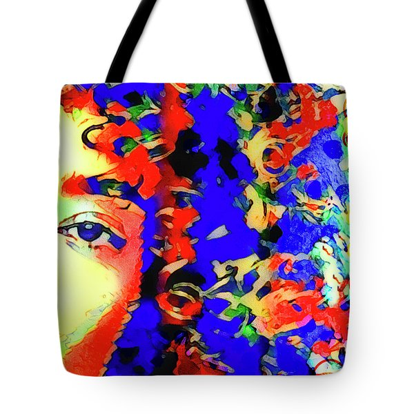 Tote Bag featuring the photograph Cellmate 3944 by Carol Leigh
