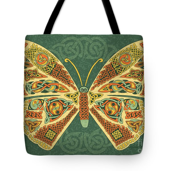 Celtic Butterfly Tote Bag